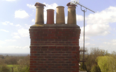New chimney completed by Building Contractors in Hassocks, West Sussex