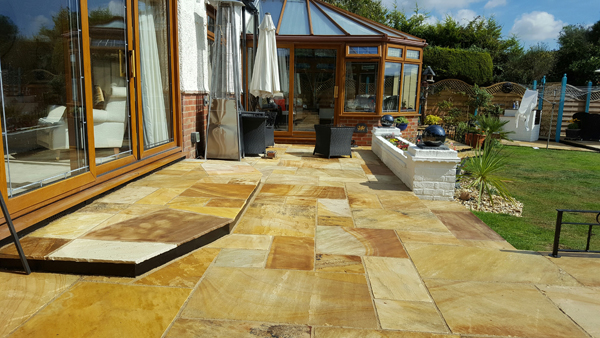 New Patio in Hassocks