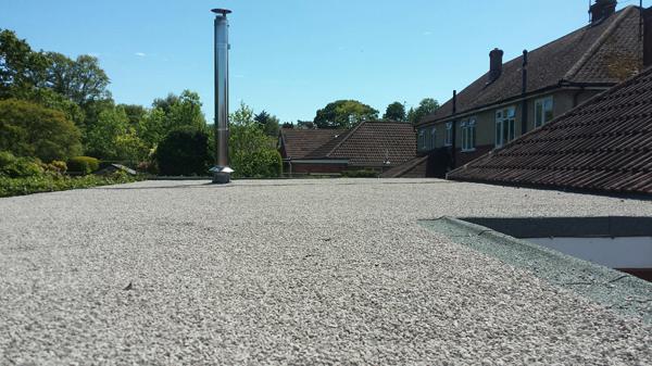 A New Flat Roof A New Flat Roof