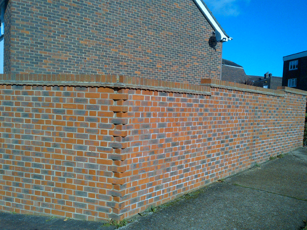 Brick walls that stand the test of time in Hassocks, West Sussex