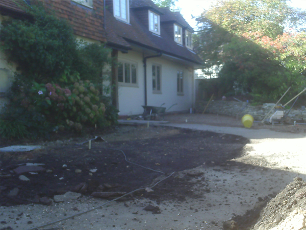 Driveway - Lewes Road, Ditchling